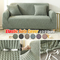 1/2/3 Seater Stretch Chair Sofa Covers Couch Cover Elastic Slipcover Protectors