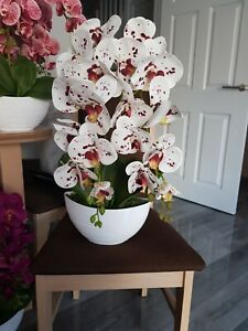 Handmade artificial Orchid In Pot