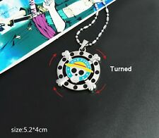 One Piece Roger Jolly anime Cosplay Necklace