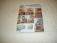 NEW 7966 SIMPLICITY HOME DECORATING PATTERN CHAIR PADS