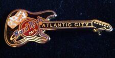 Hard Rock Cafe Atlantic City Black Guitar And Dice Pin