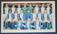 Birmingham City Superba Vintage Colore Rosa Foto Carta EXC