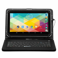 "iRULU 10.1"" Tablet Black Android 6.0.X Marshmall Quad Core PC 8G WIFI + Keyboard"