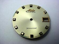 Powerwind Ocean Star Mido Vintage Watch Dial Gold 29.25mm Date Window Square Mrk