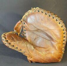 Antique Davega Baseball Glove Early 1920's  Lefty Buck Jordan Model Mitt