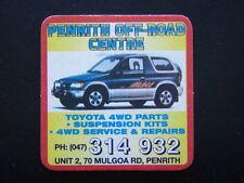 PENRITH OFF-ROAD CENTRE TOYOTA 4WD PARTS UNIT 2 70 MULGOA RD 047 314932 COASTER