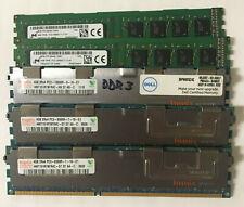 4GB DDR3 (PC3) DIMM Modules 240-Pin Memory RAM 4G 8G non-ECC