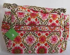 Vera Bradley Purse Handbag Stephanie Women Women's FOLKLORIC Floral Pink Orange