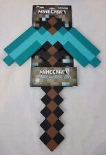 "NEW Minecraft Foam Diamond Pickaxe 18"""