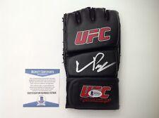 Quinton Rampage Jackson Signed Autographed UFC Glove Beckett BAS COA a