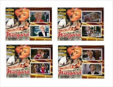 2017 MARILYN MONROE movies 8 SOUVENIR SHEETS MNH UNPERFORATED niagara