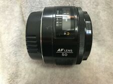 Minolta Konica Maxxum 50mm f/1.7 AF Lens