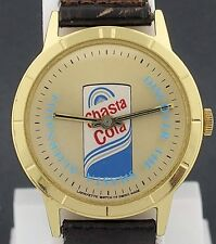 Vintage wind-up Shasta Cola Advertising Mystery Dial Watch by Lafayette