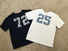 """The Children's Place Boys Lot T-shirts Tee Tops """"25"""" """"72"""" Size 5 6 (L123)"""