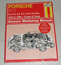 Reparaturanleitung Porsche 911 2.0 / 2.2 / 2.4 / 2.7 / 3.0 / 3.2 liter, 1965-85