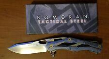 Komoran Hand Made Linerlock Folding Pocket Knife D2 Steel KO015