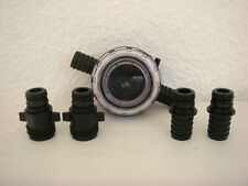Jabsco Xylem Flojet Schmutzfilter Wasserfilter + 4 Adapter f. Pumpensysteme