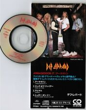 """DEF LEPPARD Armageddon/Ring Of Fire/Pour.. JAPAN 3"""" CD SINGLE PPDM-1 Unsnapped"""