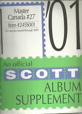 Scott # 27 Canada Album Supplement New