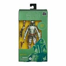 "Star Wars The Black Carbonized Boba Fett 6"" Toy Figure"