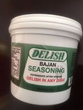 DELISH BAJAN SEASONING! 1 litre tub! Free shipping! 100% Bajan Green seasoning!