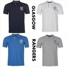 Glasgow Rangers FC Team Core Polo Shirt Mens Navy Football Soccer Top T-Shirt