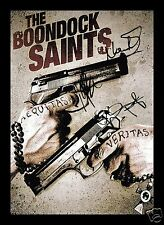 BOONDOCK SAINTS AUTOGRAPHED SIGNED AND FRAMED PP PHOTO POSTER