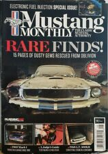 Mustang Monthly Aug 2017 Rare Finds Electronic Fuel Injection Free Shipping Cb