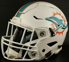MIAMI DOLPHINS NFL Authentic GAMEDAY Football Helmet w/ SF-2EG-II Facemask