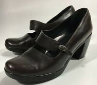 Dansko  Mary Jane Shoes Women's EU 40 US 9 1/2-10 Brown  Leather