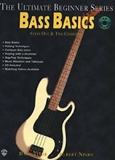 BASS BASICS  - The Ultimate Beginner Series con CD