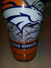 NEW Tervis 1266718 NFL Denver Broncos Edge Stainless Steel Tumbler