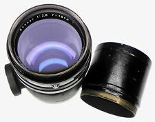 Carl Zeiss Jena Black 18cm f2.8 T* Sonnar Exakta mount  # 3114550