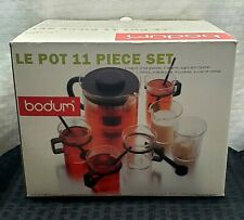 Bodum Le Pot Tea set K1895 Star Trek Cpt. Picard NIB VERY RARE! FULL SET!!!