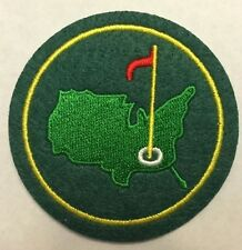 GOLF MASTERS  IRON ON EMBROIDERED PATCH SIZE 2.5 INCH