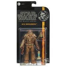 """Guerra DE LAS GALAXIAS la serie negra 3.75"""" #15 MERUMERU los Wookiee Figura De Hasbro"""