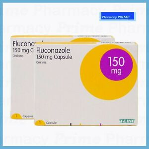 x2 PACKS Oral Tablet Single Dose Treatment for Thrush 150mg