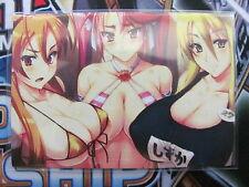 Yugioh Common Orica Sexy Anime Girls Token (Art 5) High School of the Dead