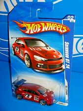 Hot Wheels 2010 All Stars Series #120 Scirocco GT 24 Red w/ 10SPs