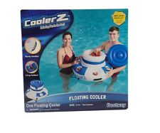 Floating Inflatable Beer Cooler Drink Holder Pool Beach Lake River Party 6 Cups