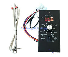 Digital Thermostat Pellet Grill Control Board +RTD Probe For All Traeger BAC236