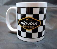Reproduction Vintage Ski Doo Blizzard Snowmobile Logo Coffee Mug