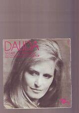 45 tours dalida - : les couleurs de l'amour -- ballade a temps perdu - barclay