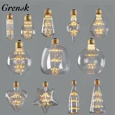 Retro Starry Sky Dimmable led Bulb Wine Bottle Decorative Firework Lightbulb Lam