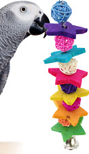 1940 Foraging Chewy Star Parrot Bird Toy cage toys cages amazon conure cockatiel