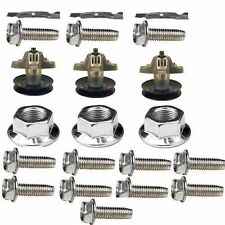 COMBO 50'' DECK TROY&RZT50 3blades,3spindles,3blade bolts,12 mount screws (K9)