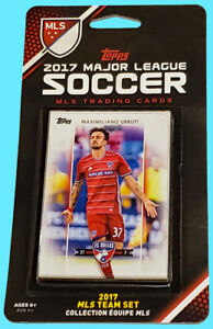 2017 TOPPS MLS FC DALLAS TEAM SET Soccer NEW SEALED trading collectible cards