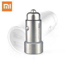 Xiaomi Original Car Charger Dual USB-Port 5V/2.4A Smart Charge Metal Design New