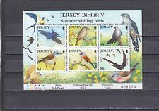 JERSEY - SGMS1590 MNH 2011 VISITING SUMMER BIRDS