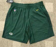 Nike NFL Green Bay Packers Knit Football Shorts Dri-fit Fly Size XXL 2018